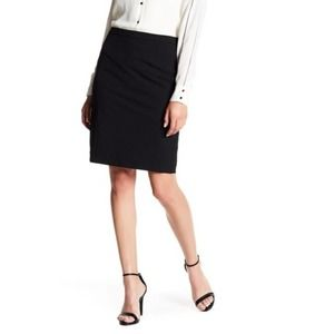 Halogen Ela Stretch Pencil Skirt Black